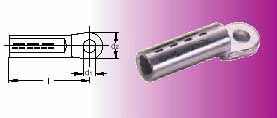 Aluminium Compression Cable Lug  According To DIN 46329 For Sectorial Conductors
