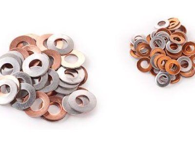 Aluminium/Copper Bimetallic Washers, DIN Standard
