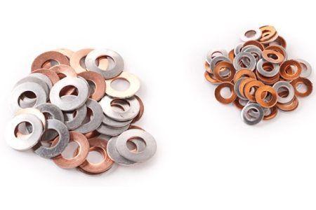 Aluminium/Copper Bimetallic Washers