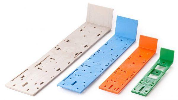 Plastic boards for lighting poles