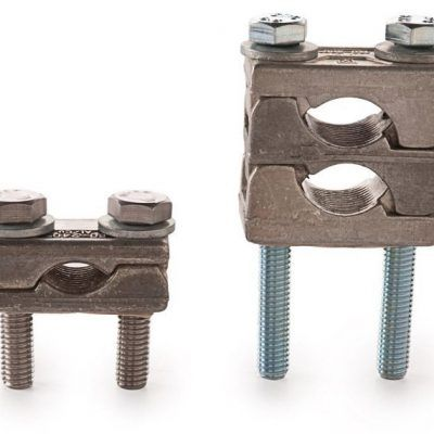 Al/Cu Flat Double Terminal Clamp According to DIN Standard